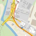 Trasa z centra Brna